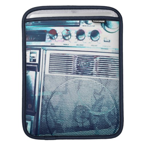 bLu Boombox iPad Sleeve