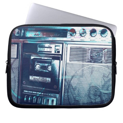 bLu Boombox Laptop Computer Sleeves