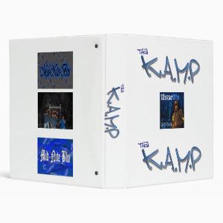 blu down wit school vinyl binder