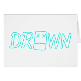 Blu Drown Card
