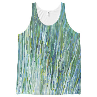 Blu & Green Waterfall Fashion Tank Top Juul