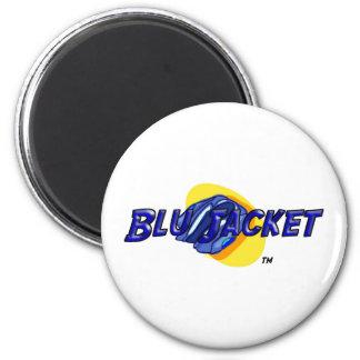 Blu Jacket Logo 2 Inch Round Magnet
