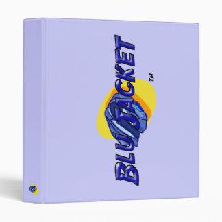 Blu Jacket Logo 3 Ring Binder