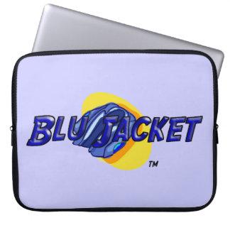 Blu Jacket Logo Laptop Sleeve