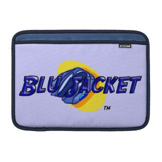 Blu Jacket Logo MacBook Sleeve