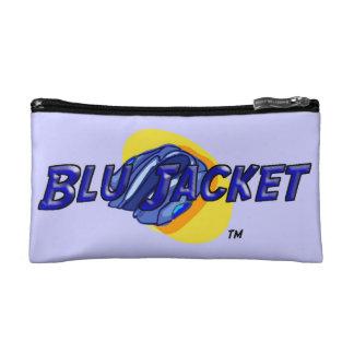Blu Jacket Logo Makeup Bag