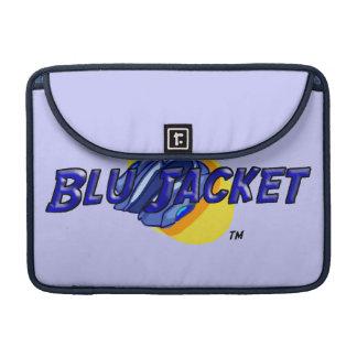 Blu Jacket Logo Sleeve For MacBook Pro