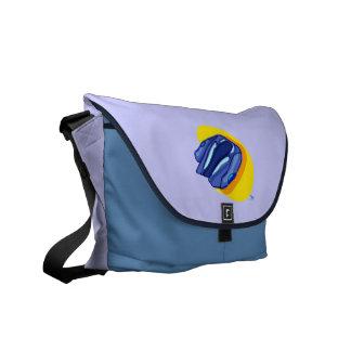 Blu Jacket's Blue Jacket Messenger Bag