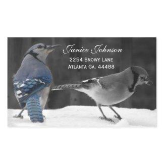 Blu Jay Address Stickers
