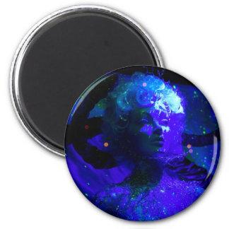 Blu 2 Inch Round Magnet