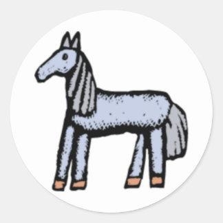 Blu Pony Stickers
