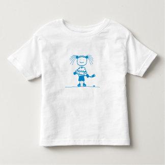 BLU Stick Hockey Tee Shirt