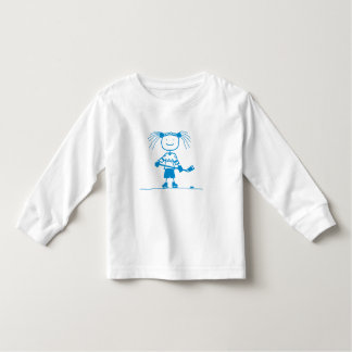 BLU Stick Hockey Toddler Long Sleeve Toddler T-shirt