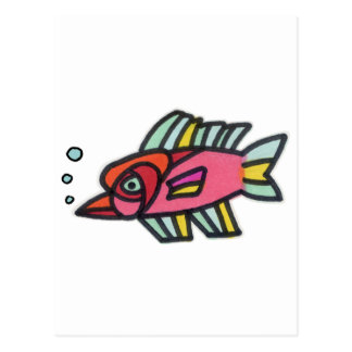 Blub Fish Pinknose Post Cards