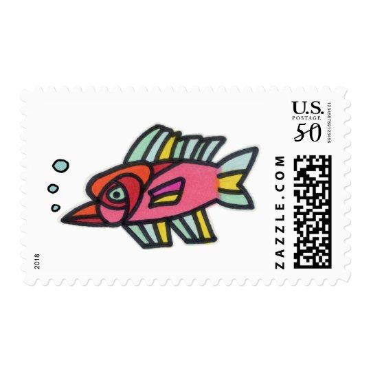 Blub Fish Pinknose Postage