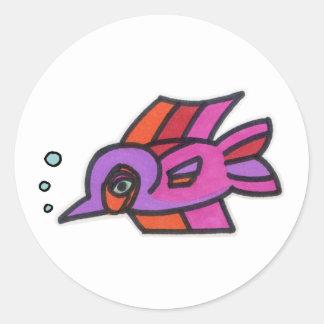 Blub Fish Purplenose Sticker