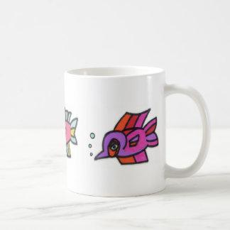 Blub Fish Trio Coffee Mug