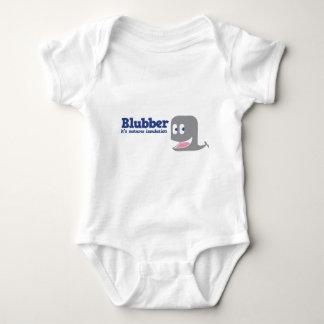 Blubber it's natures insulation baby bodysuit