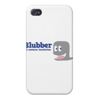 Blubber it's natures insulation cover for iPhone 4