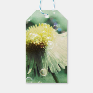 Blubble Flower Customizable Gift Tags