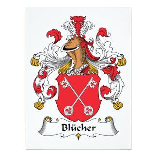Blucher Family Crest 6.5x8.75 Paper Invitation Card