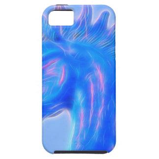 Blucifer el caballo azul iPhone 5 carcasas