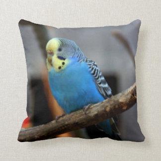 Blud Budgie Throw Pillow