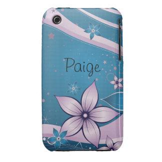 Blud flower custom iPhone 3 case