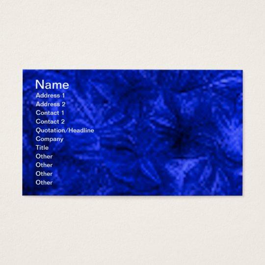 blue005 rich deep textures business card