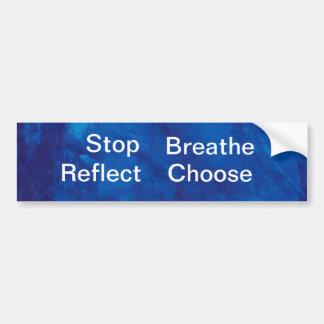 blue1010001, parada, respiran, reflejan, eligen pegatina para auto