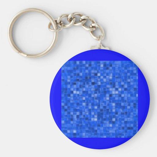 blue195 llavero redondo tipo pin