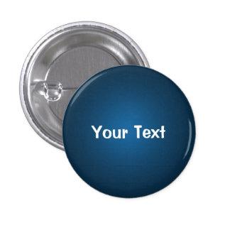 """Blue1 1/4"""" plantilla de encargo del botón del text pin"""
