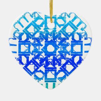 Blue 101STAR Christmas Ornament