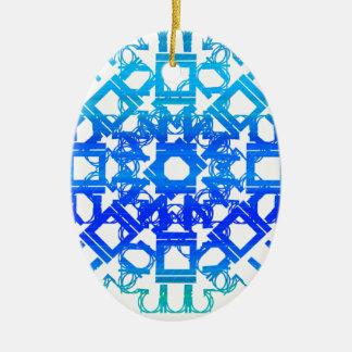 Blue 101STAR Ornaments