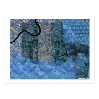 Blue 10 postcard
