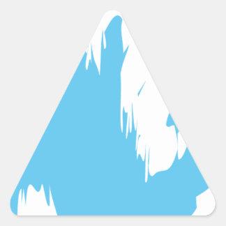 blue-1219-clo pegatina triangular