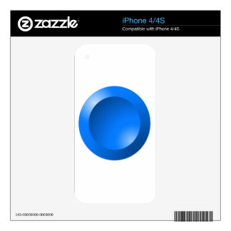 blue-121ri skins for iPhone 4S