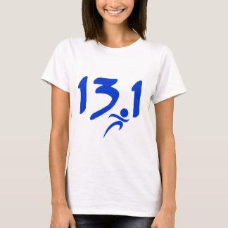 Blue 13.1 half-marathon T-Shirt