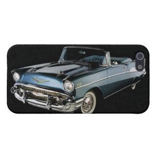 Blue 1957 Chevrolet Chevy BelAir iPhone 5/5s Case