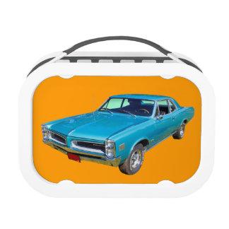 Blue 1966 Pontiac Le Mans Muscle Car Yubo Lunchbox