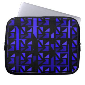 Blue 1 CricketDiane Neoprene Electronics Case Laptop Sleeve