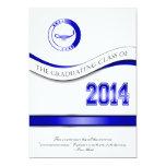 Blue 2014 Graduation Invitation/Announcement