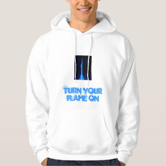 blue%20flame, turn your flame on hoodie