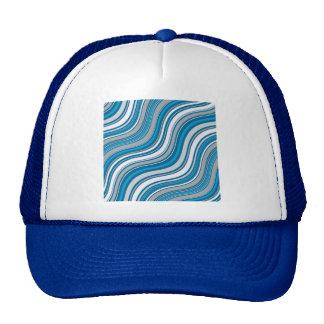 blue-279692  blue pattern sea surface aqua abstrac trucker hat