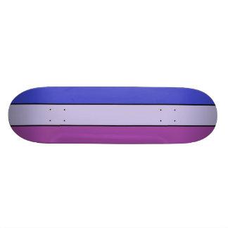Blue & 2 tone purple SK8 Deck