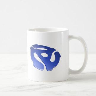 Blue 3D 45 RPM Adapter Mugs