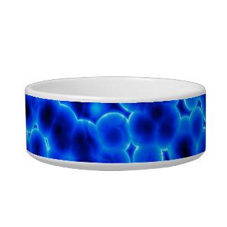 Blue 3D Cells Bowl