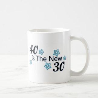Blue 40 is the New 30 Coffee Mug