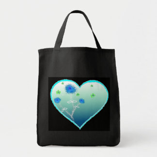 Blue 4 You-Designer Grocery Tote