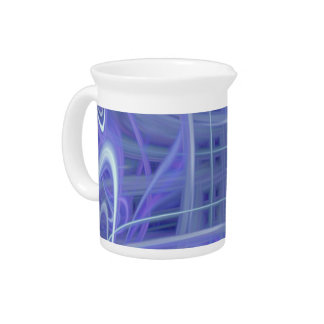 Blue 9024b beverage pitchers